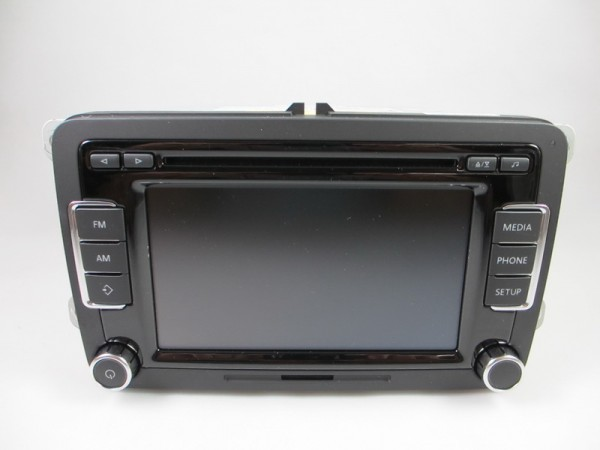 VW RCD510 CD Radio MP3 5K0035190B