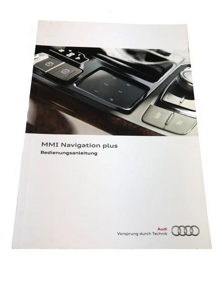 Bedienungsanleitung Audi Navigationssystem MMI plus #SW10026