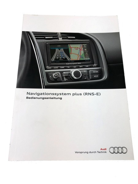 Bedienungsanleitung Audi R8 Navigationssystem plus RNS-E RNSE #SW10024
