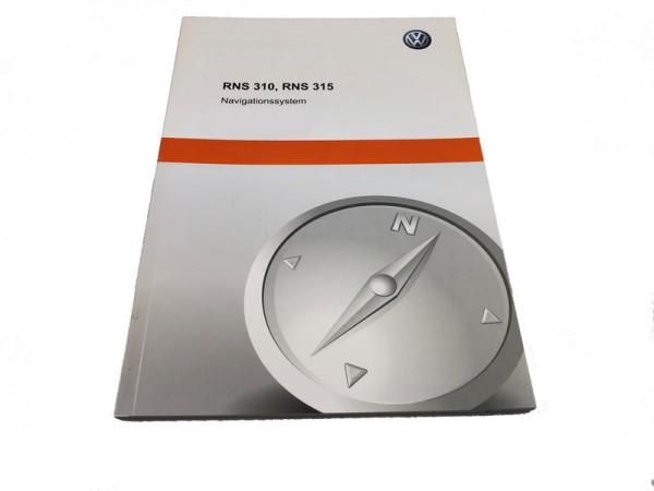 Bedienungsanleitung für VW RNS 315 Navigationssystem