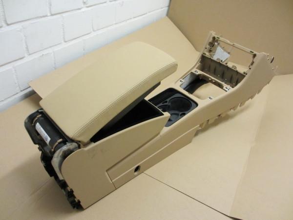 Mittelarmlehne VW Passat 3C Leder Purebeige mit Kühlfunktion und Telefonvorbereitung (15) (20)
