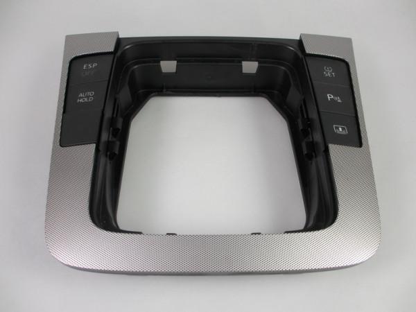 VW Passat 3C Dekoreinlage Alu Abdeckung Schaltkulisse Blende 3C0864263A