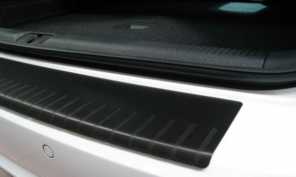Ladekantenschutz mit Abkantung Alu ELOX für Audi Q5 schwarz matt #10071-BK