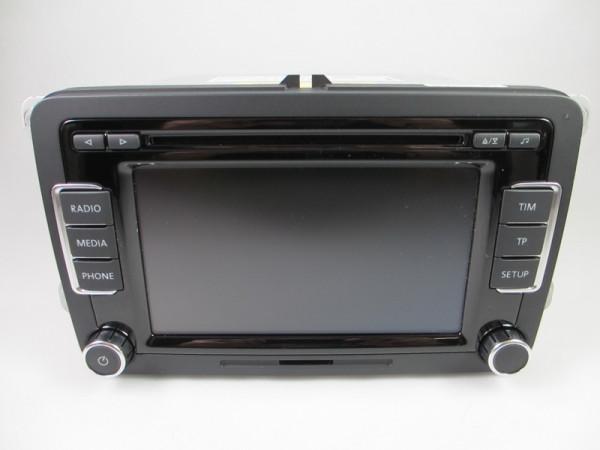VW RCD510 CD Radio MP3 3C8035195