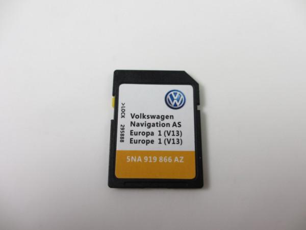 SD-Karte für VW MIB2 DISCOVER MEDIA PQ Gen. 2 SD Navigation Map V13 5NA919866AR #29027