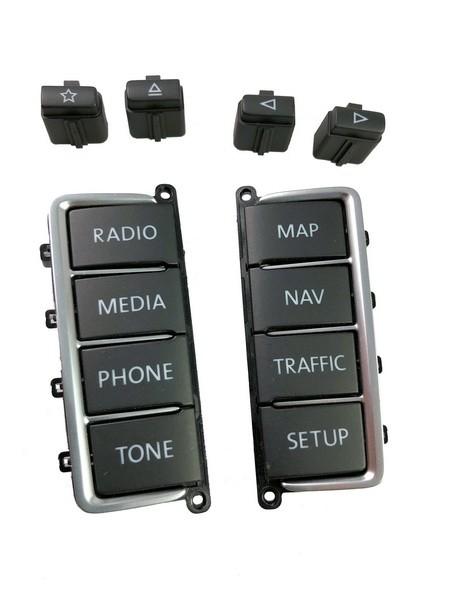 Ersatztasten für VW RNS510 RNS 510 Navigationssystem #20009