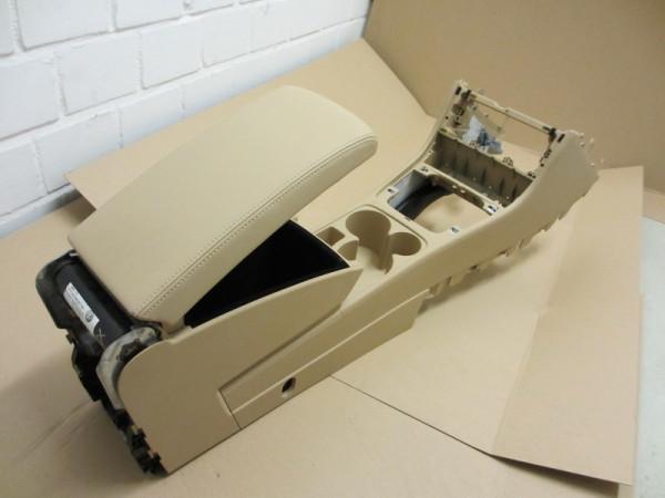 Mittelarmlehne VW Passat 3C Leder Purebeige mit Kühlfunktion (19)