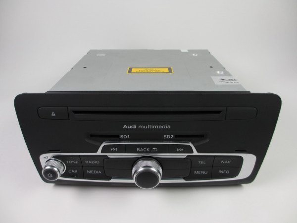 Audi A1 Main Unit MMI 3G+ Rechner 8X0035666A Steuergerät für Informationselektronik 'MMI 3G +