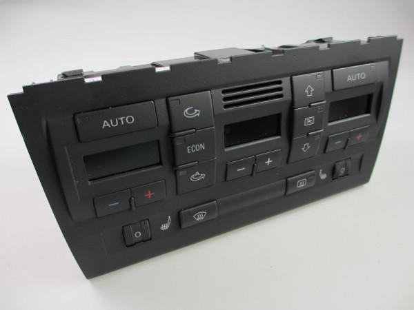 Audi A4 B7 Klimabetätigung/ Klimavollautomat mit Sitzheizungsregler Frontseitig 2DIN 8E0820043AR