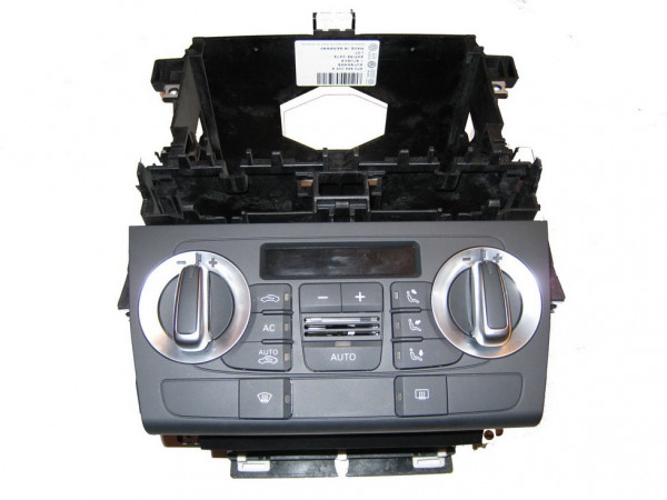Audi A3 8P0 Klimabetätigung RNS-E mit Rahmen SET 2-DIN 8P0820043BG 5PR (Gebraucht)