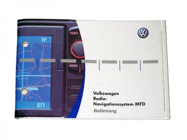 Bedienungsanleitung Volkswagen Navigationssystem MFD