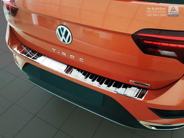Ladekantenschutz Edelstahl hochglanz für VW T-ROC #10610