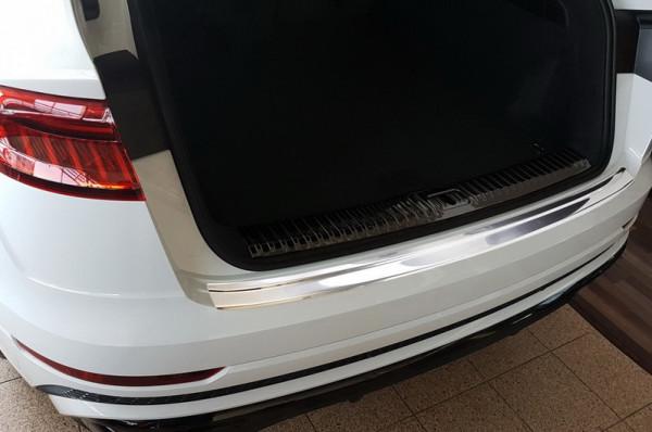 Ladekantenschutz Edelstahl satiniert für Audi Q8 4M #10621