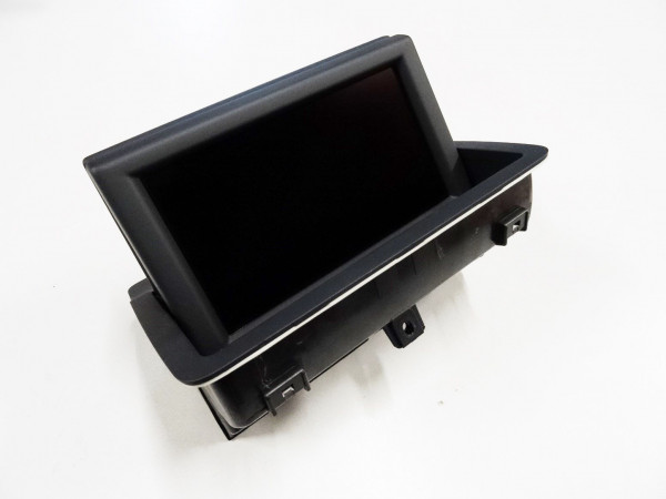 Audi A1 Bildschirmblende mit Display Bildschirm 8X0857273B 6PS 8X0857186