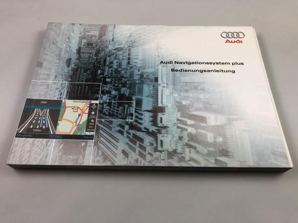 Bedienungsanleitung Audi Navigationssystem plus RNS-E RNSE #SW10015