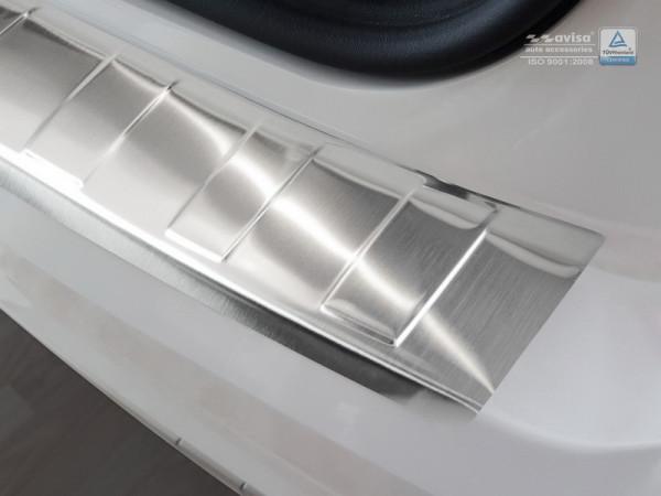 Ladekantenschutz Edelstahl satiniert für Audi Q2 GA #10614