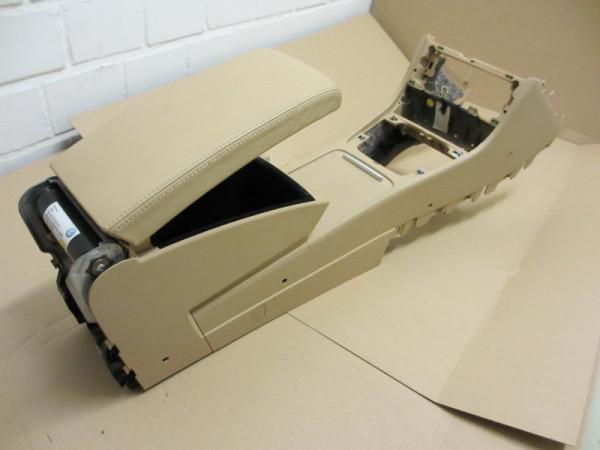 Mittelarmlehne VW Passat 3C Leder Purebeige mit Kühlfunktion, Rollo und Telefonvorbereitung (18) (Ge