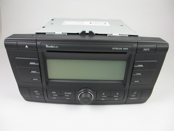 Skoda STREAM 1Z0035161C MP3 AUTORADIO CD PLAYER TP OCTAVIA 2 II