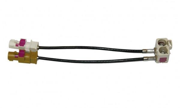 Antennenadapter für Navigation Volkswagen RNS 510 Skoda Columbus FAKRA 80008