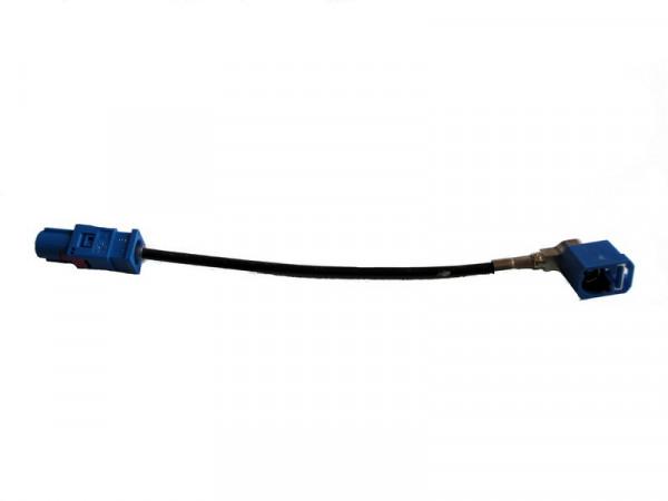Adapter Fakra Reparatur für Navigation RNS 510 Skoda Columbus FAKRA blau 80007