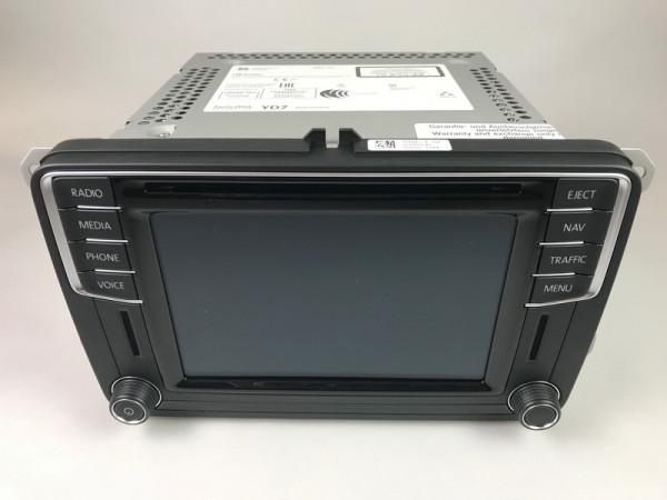"Volkswagen 5C0035680C Navigationssystem ""Discover Media DAB"