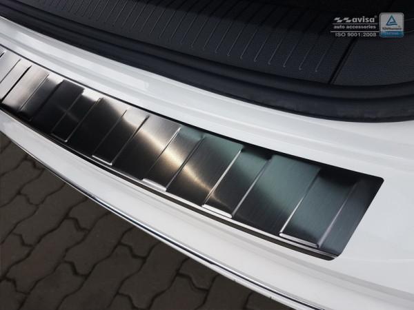 Ladekantenschutz Edelstahl schwarz satiniert für VW T6/ T6.1 #10608