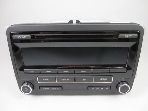 VW RCD310 CD Radio MP3 1K0035186AN