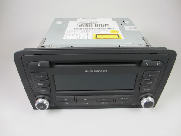 Audi A3 Radio Concert 2DIN EU MP3 8P0035186P