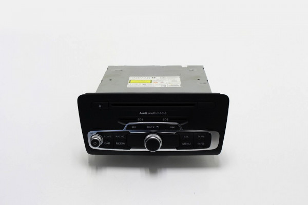Audi A1 Main Unit MMI 3G+ Rechner 8X0035666D Steuergerät für Informationselektronik 'MMI 3G + (Gebra