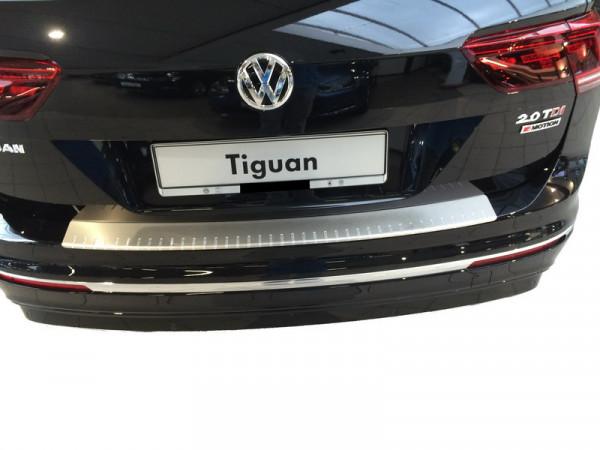 Alu Elox Ladekantenschutz / Stoßstangenabdeckung für VW Tiguan 2. Generation ab 2016 #10095_2