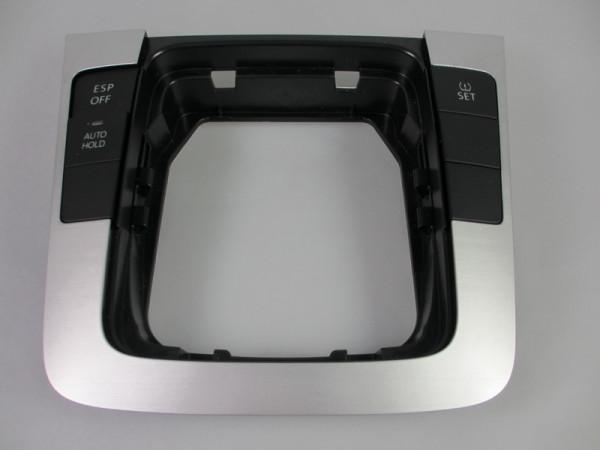 VW Passat 3C Dekoreinlage Titansilber Abdeckung Schaltkulisse Blende 3C0864263E