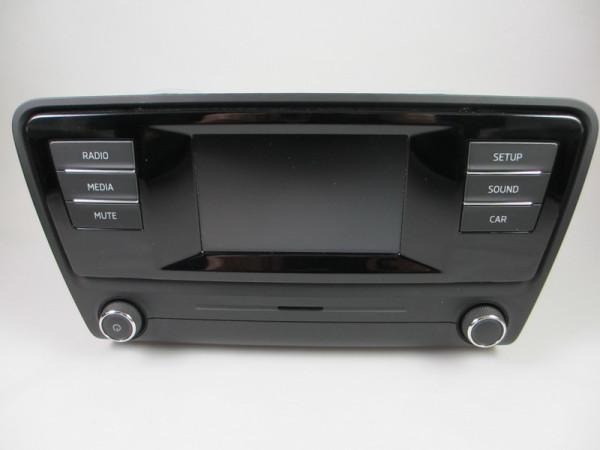 """Skoda """"Swing"""" 5E0035867C Steuergerät für Informationselektronik mit Radio, Bluetooth und SD/CD-LW"""