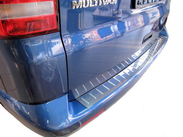 Edelstahl Ladekantenschutz / Stoßstangenabdeckung für VW T5/ Multivan Caravelle #10081